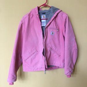 Medium Pink Carhartt Jacket